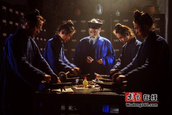 第三届中国武当国际摄影大展(武当组照):武当道教医药