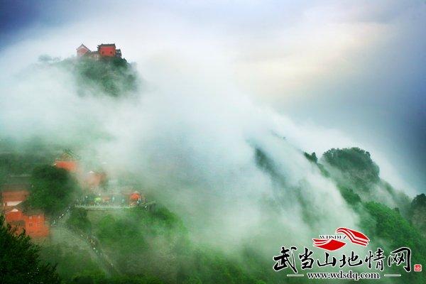 """""""太极湖杯""""2011中国武当摄影大展:玄岳蜃景"""