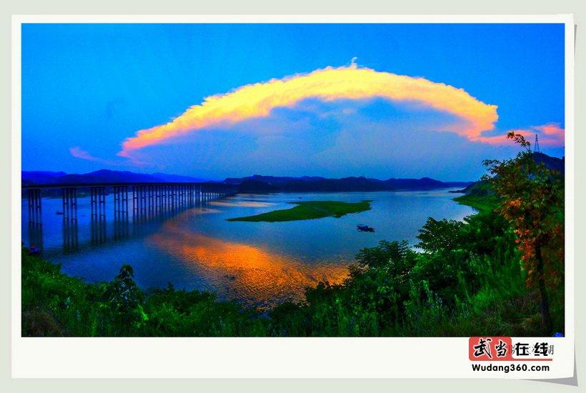 第三届中国武当国际摄影大展夏季入选作品欣赏之太极湖风光(部分)