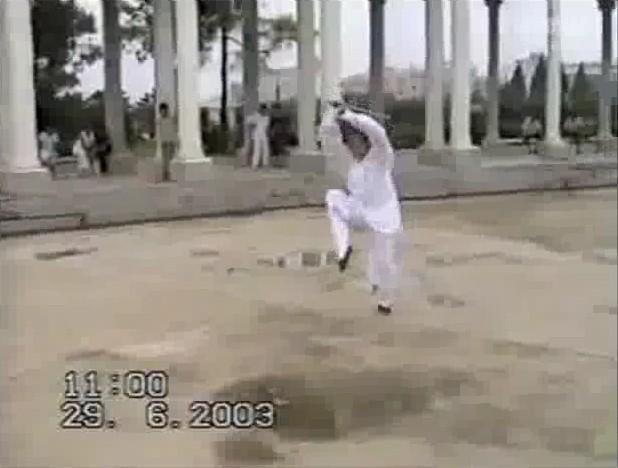 八仙剑 表演:陈师行