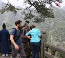 巴西环球电视网在武当山拍摄专题片
