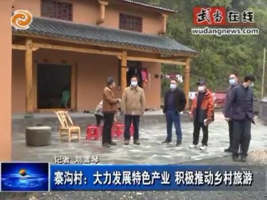 寨沟村:大力发展特色产业 积极推动乡村旅游