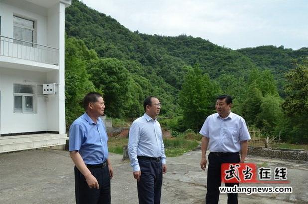 市委常委、常务副市长刘荣山来武开展第二季度巡河工作