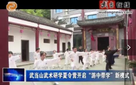 """武当山武术研学夏令营开启""""游中带学""""新模式"""