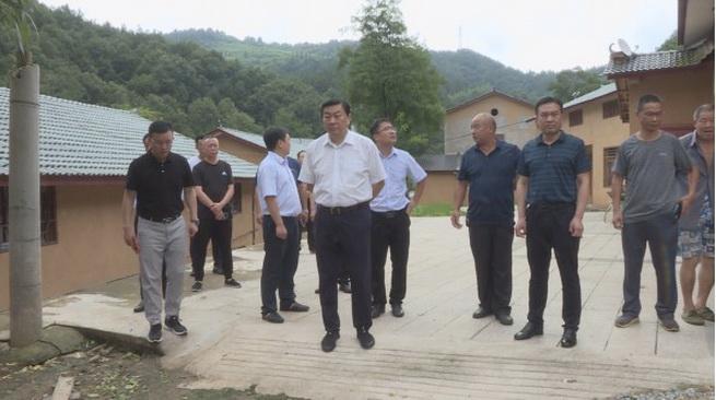 武当山特区领导检查指导防汛安全和地质灾害防治工作