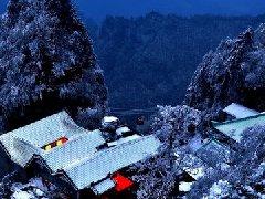 优秀作品:大岳冬暖
