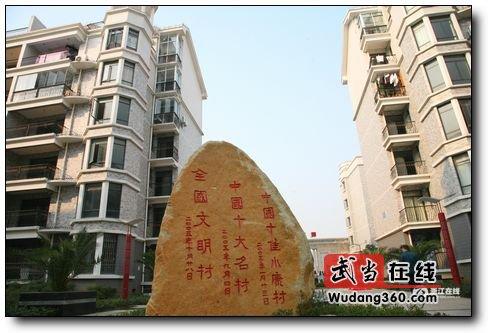 革命老区第一个亿元村--江西省进顺村