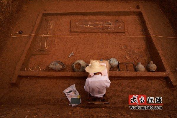 丹江口库区考古工地