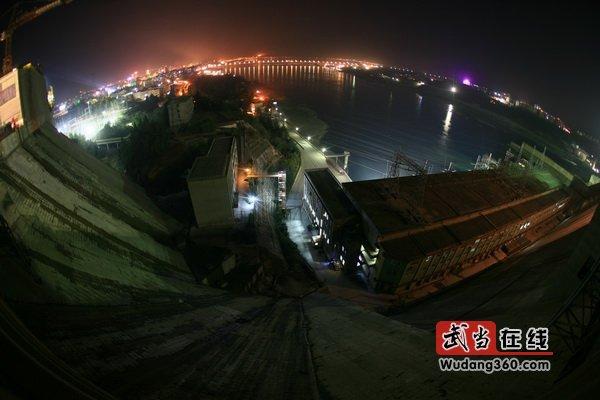 中国水都美丽的夜色