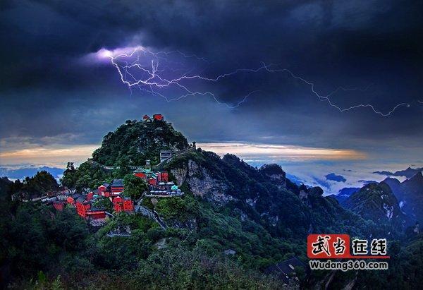 第三届中国武当国际摄影大展(武当创意):梦幻金顶