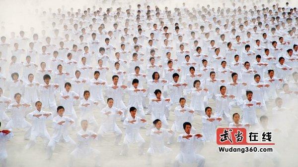 第三届中国武当国际摄影大展(武当山人文):武当太极阵
