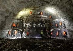 """汉十高铁隧道""""穿山甲"""""""