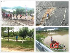 武当山城市管理综合执法局全面开展雨后环境综合整治