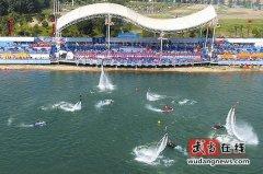 2018年中国丹江口摩托艇俱乐部大奖赛开赛