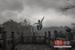 """""""武当369杯""""2018武当山全国摄影大展入展作品:武当功夫(组照7)"""