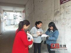 武当山街道办事处老营社区开展冬季预防一氧化碳中毒宣传
