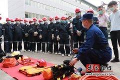 武当山消防救援大队与太和医院开展互学、互助活动