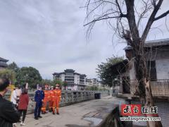 武当山消防部门及时清理枯枝消除安全隐患